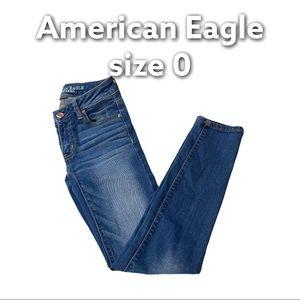 American Eagle   Super Stretch Ankle Jegging